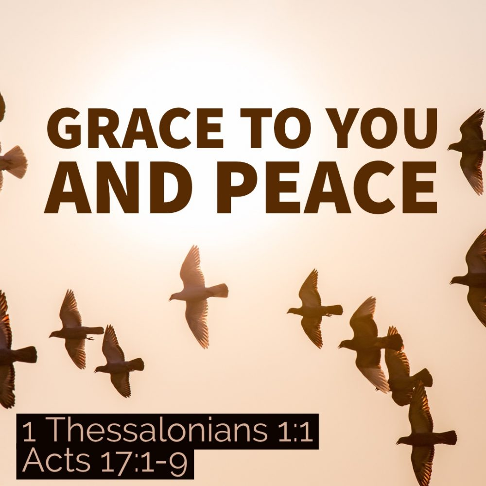 Grace to You and Peace Image