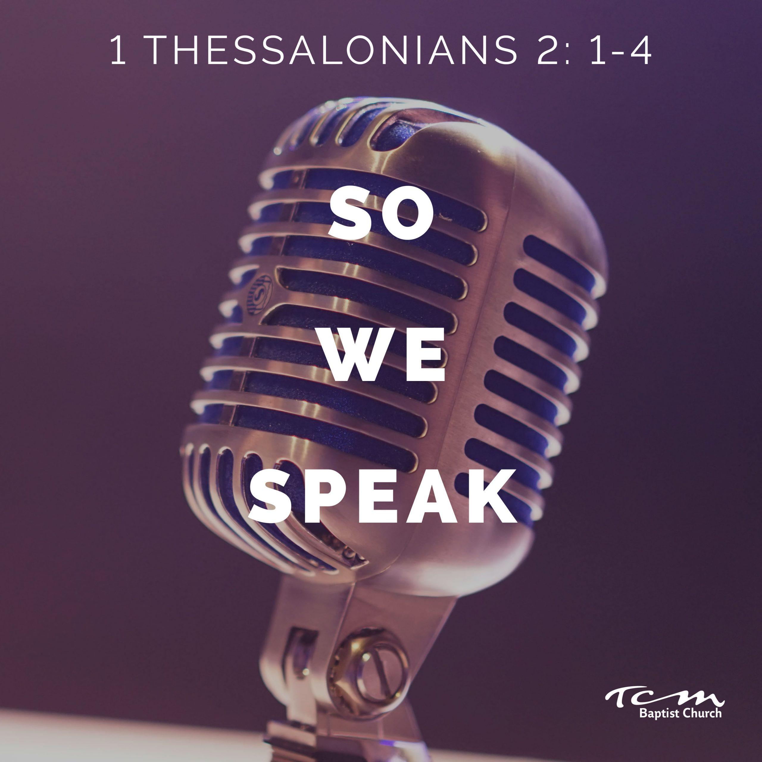 So We Speak Image