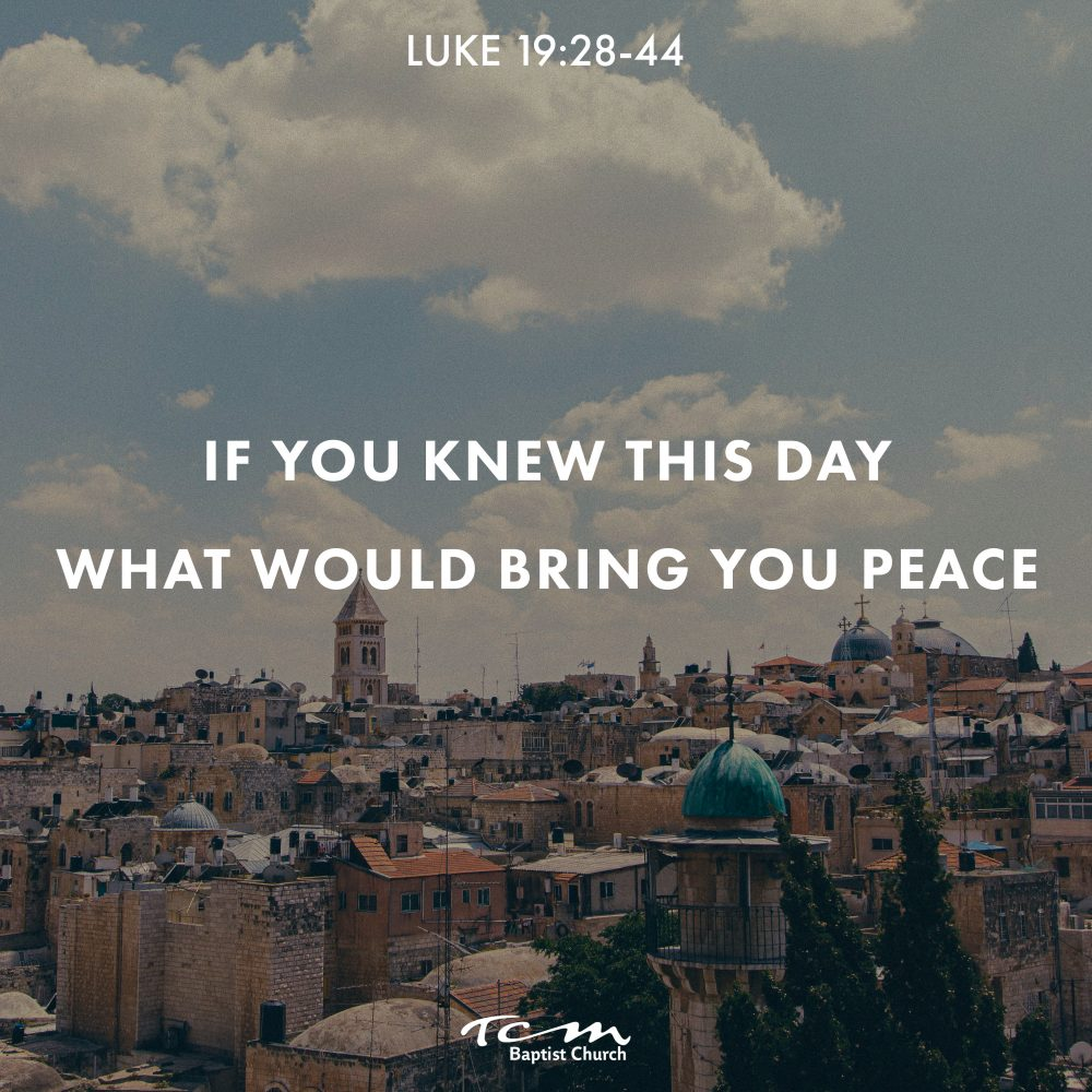 If You Knew This Day What Would Bring You Peace Image