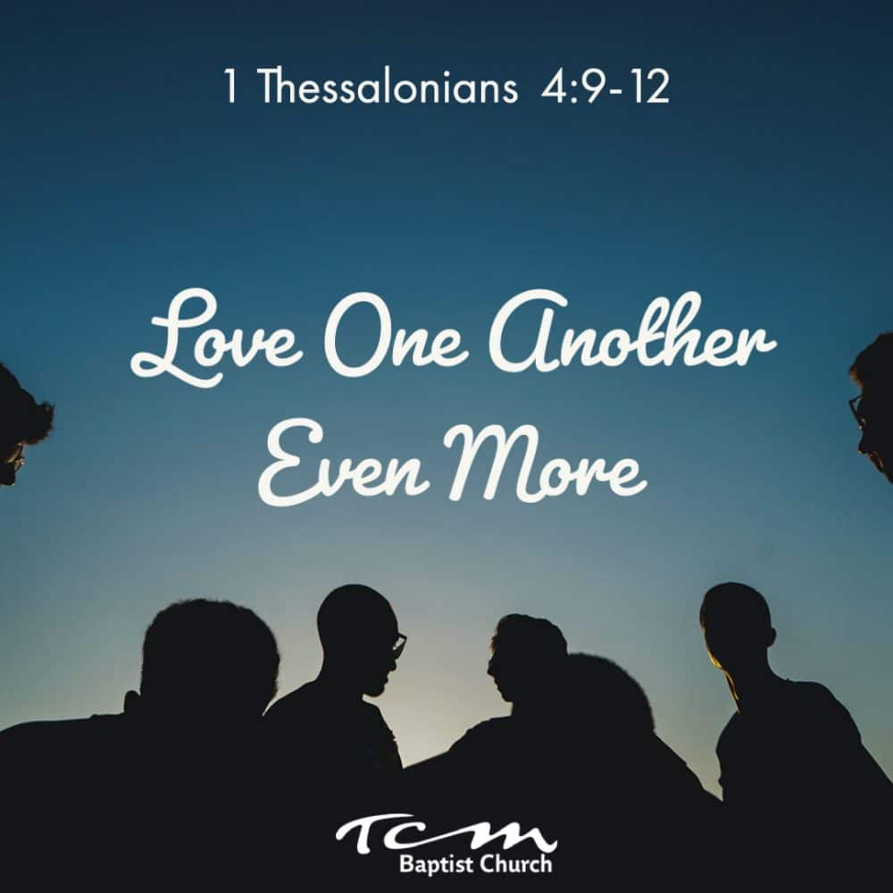 Love One Another Even More