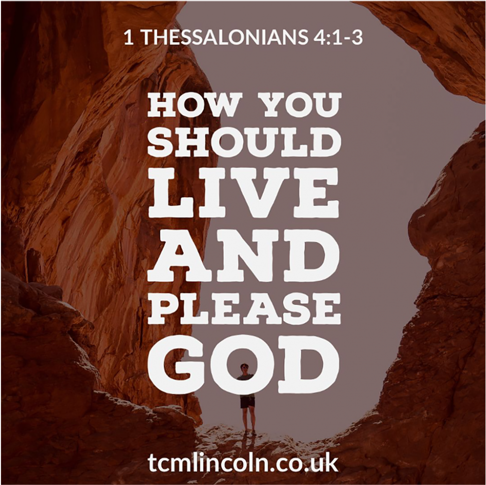 How You Should Live and Please God