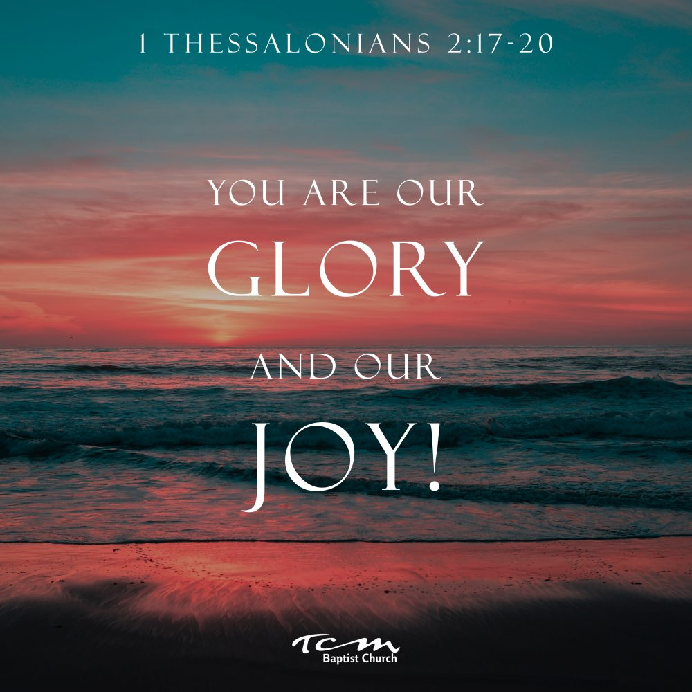 You Are Our Glory and Joy! Image