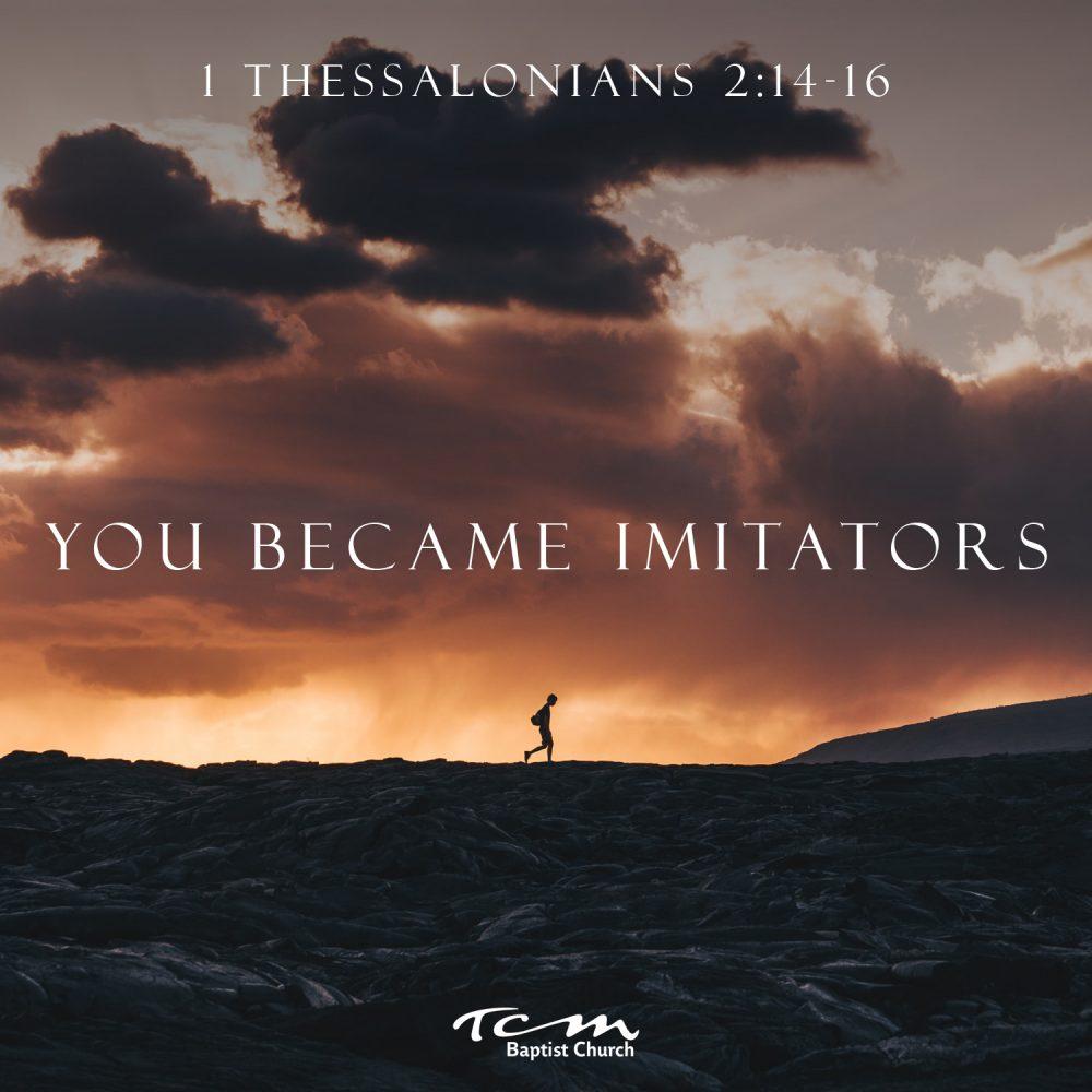 You Became Imitators Image